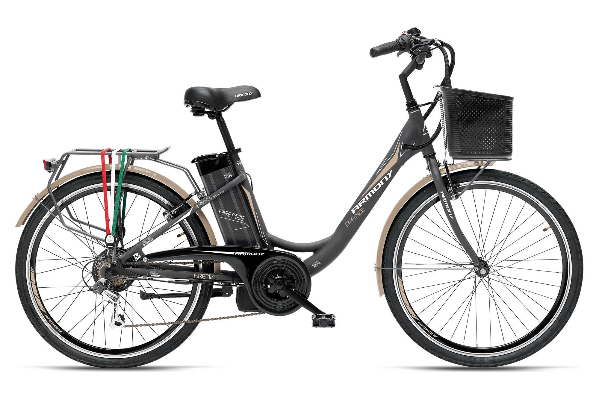 CITY BIKE - MODELLO FIRENZE - GRIGIA